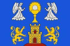 Flag of Comarca of Lugo, Lugo province, Galicia