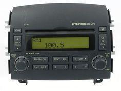 2006-2008 Hyundai Sonata Radio AM FM w mp3 Compact Disc Part Number 961800A100FZ