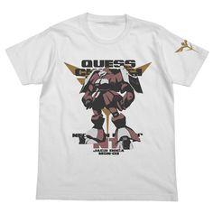 Gundam Char`s Counterattack Jagd Doga T-shirt (WHITE) (XL)