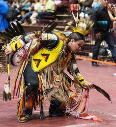 Jr. Men's Traditional. 2012 Catawba Pow Wow by Paul Gowder, via Flickr