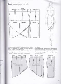 Patternmaking by Pennie Annie - issuu Sewing Basics, Sewing Hacks, Sewing Tutorials, Dress Tutorials, Sewing Projects, Fashion Sewing, Diy Fashion, Ideias Fashion, Techniques Couture