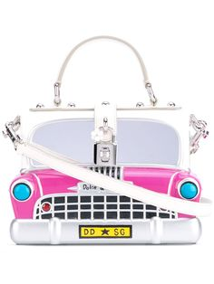 Shop online white Dolce & Gabbana Dolce box car tote as well as new season, new arrivals daily. Dolce & Gabbana, Dolce And Gabbana Purses, Novelty Handbags, Tote Handbags, Tote Purse, Tote Bags, White Tote Bag, White Handbag, Wooden Purse