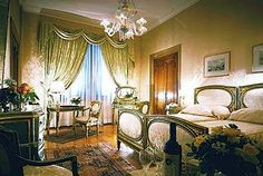 the rooms at the Hotel Danieli Venice Italy