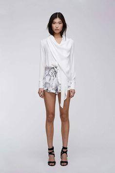 Stylestalker wrap blouse