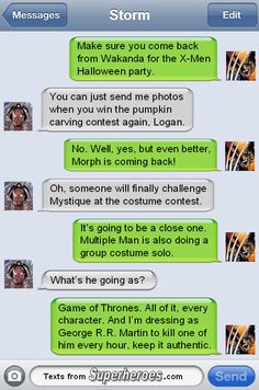 """textsfromsuperheroes: """" Happy Halloween from Texts From Superheroes! """""""