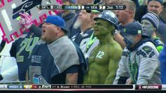 Because The 12th Man is the loudest and most intimidating fan base in the NFL. | 16 Reasons You Should Be Rooting For The Seattle Seahawks To Win The Super Bowl