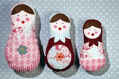 Learn how to make a russian doll cushion to add some nostalgia to your home for 2015. Perfect for children's bedrooms, or a fun addition to your sofa!