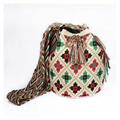 Video, Wayuu Mochill Bag, Handbag How? Wiggly Crochet, Knit Or Crochet, Crochet Stitches, Crochet Handbags, Crochet Purses, Mochila Crochet, Tapestry Crochet Patterns, Tapestry Bag, Crochet Buttons