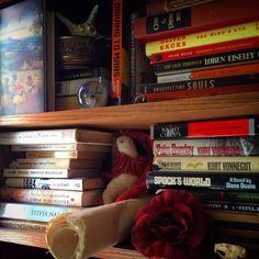 Home office. #bookshelf