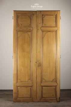 Pair Tall Period French Pine Doors & Part Glazed Door | Reclaimed Doors | Pinterest | Reclamation yard ...