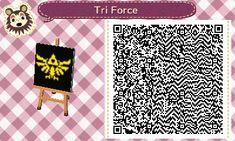 ACNL: Triforce Pattern by Jerika25 on DeviantArt
