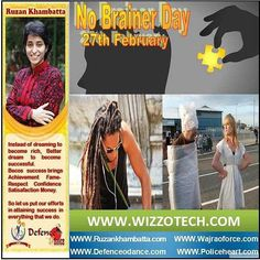 """No Brainer Day  No Brainer Day is celebrated on February 27 2016. It's easy to celebrate it: just be happy about its existance! No-brainer is a term used to denote a problem that allegedly has a very easy solution obvious to all. The term originated in engineering jargon but grew in popularity during the 1990s and 2000s and is now common in business environments. The claim that a problem is a """"no-brainer"""" may be a way to shut down dissent. #youthicon #motivationalspeaker…"""