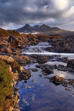 Sligachan to Cuillin. Isle of Skye, Scotland.