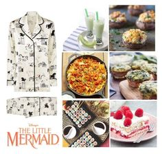 """""""The Little Mermaid"""" by the-wanted-potato ❤ liked on Polyvore featuring Olivia von Halle"""