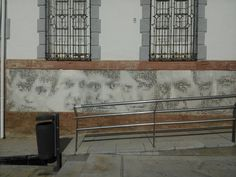 Plaza del Teatro Cervantes.Málaga