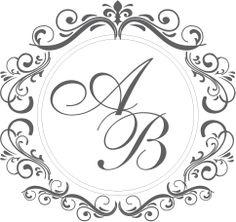 Wedding Logos, Monogram Wedding, Wedding Cards, Wedding Invitations, Motif Oriental, Borders And Frames, Letter Art, Tricks, Hand Lettering