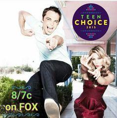 Jim Parsons Teen Choice Awards