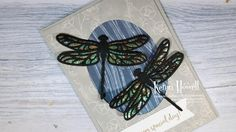 Stampin' Up! Double Dragonflies card