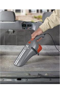 Black & Decker #Car Vacuum Cleaner Has Flexible Tube To Clean Each And Every Corner Of Your Car. #DIY Shop Now Toolcasa.com