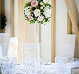 Table centrepiece by The Flowersmiths