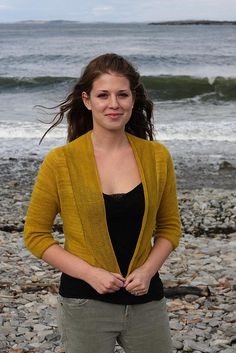 Featherweight Cardigan  by Hannah Fettig    Published in  knitbot $5.95