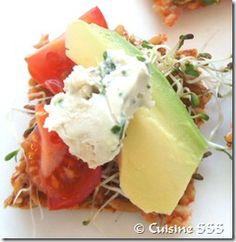 Fromage végétal ail et fines herbes