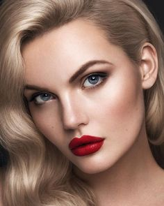 totally inspiring dark lipstick makeup ideas you can try . - totally inspiring dark lipstick makeup ideas you should try – fashionable – … – tot - Red Lipstick Makeup Blonde, Best Red Lipstick, Natural Lipstick, Red Lipsticks, Peach Lipstick, Beautiful Lips, Gorgeous Makeup, Classic Makeup Looks, Lipstick Tattoos