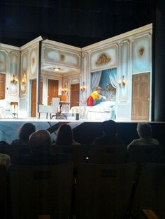 Lend Me a Tenor at the Des Moines Playhouse. Always such amazing sets.
