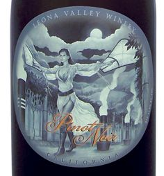 Sexy labels Leona Valley Winery Label by WestcottDesign.com