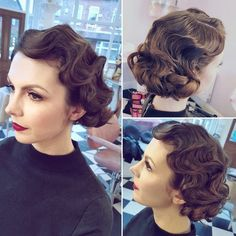 1930's marcel waves By Sophie Battersby