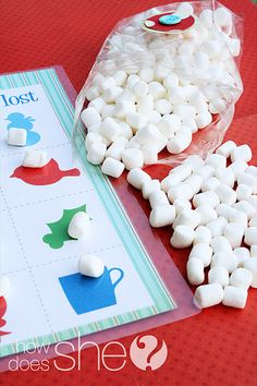 """Fun printable game and neighbor gift idea  For a special family you could do pictures of their family and include """"Pete"""" so they have a """"Don't eat Pete"""" set!"""