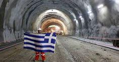 Ελλάδα: Ολοκληρώθηκε η μεγαλύτερη σήραγγα των Βαλκανίων