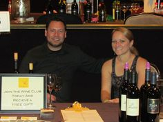 Our table at the Beverly Hills Wine Festival, Feb 2012