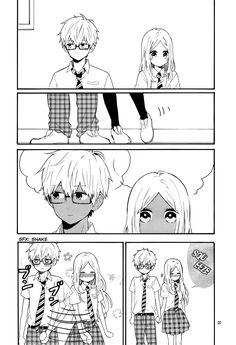 they're so pure (//ω//) Manga: Hibi chouchou Manga Anime, Anime Amor, Anime Couples Manga, Cute Anime Couples, Manga Art, Manga Couple, Anime Love Couple, Manhwa, Hibi Chouchou