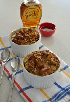 Gluten & Dairy Free Apple-Walnut Bread Pudding