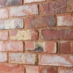 An original reclaimed brick slip cut from bricks aged over 100 years. The Barnstock brick tile is perfect for creating an industrial look for your project Patio Wall, Diy Patio, Brick Tiles, Brick Wall, Industrial Kitchen Design, Vintage Industrial, Industrial Style, Thin Brick, Outdoor Stone