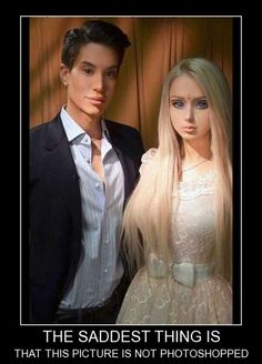 Real Life Barbie and Ken | Real life Barbie and Ken #creepy | Things that make me laugh