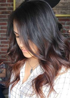Two Toned Brown Hair