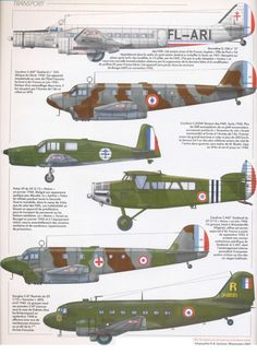 "The French Air Force Of The ""Armistice"" 1940 To 1942. Transport"