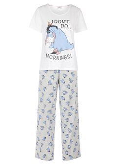Clothing at Tesco | Disney Eeyore Pyjamas > nightwear > Nightwear & Slippers > Women