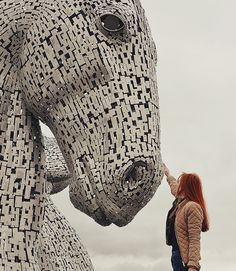 The Kelpies, Scotland