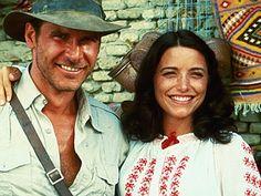 Harrison Ford & Karen Allen in 'Indiana Jones' Movie Theater, I Movie, Movie Stars, Harrison Ford, Marion Ravenwood, Indiana Jones Films, Henry Jones, Star Wars, Steven Spielberg