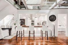 Incroyable duplex à Stockholm - Journal du Design