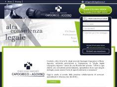 Sito web realizzato per  uno studio legale associato