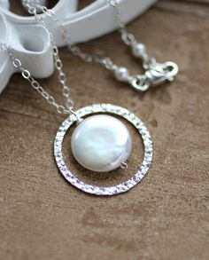 Mother of the Bride Gift Mom Necklace Wedding by LRoseDesigns, $35.50