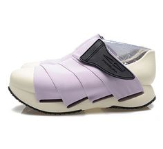 FESSURA Womens Mummy Shoes New Light White Outsole Violet Upper Color #FESSURA #FashionSneakers