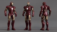 Our very talented Asset Supervisor David Weaver has been working on his Iron Man project for a few years now and we're really impressed with what he has done, so wanted to share it with you. Marvel Comic Universe, Marvel Comics Art, Batman Universe, Character Model Sheet, Character Modeling, Combat Armor, Stark Industries, Iron Man Armor, Joker Art