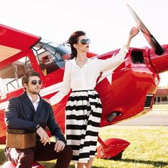 let love take you higher with 5g Aviation, romantic flight photographed by John & Joseph Photography, Ruby Red, classic, featured on: www.loveluxelife.com #weloveluxelife