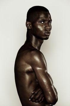 Black Is Beautiful, Beautiful Boys, Black Boys, Black Men, Men Fashion Photoshoot, Adonis Bosso, Black Models, People Photography, Male Body