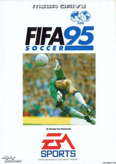 Fifa 95, Sega Megadrive  [ Presstart ] atari . snes . megadrive . playstation . xbox . ps3 . supernintendo . videogame . soccer . retro . classic . games . personalize . virtual
